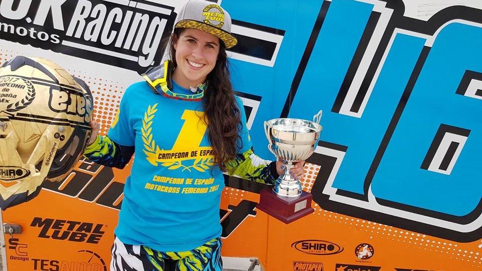 Sara Coloret se proclama campeona de España del MXF 2017
