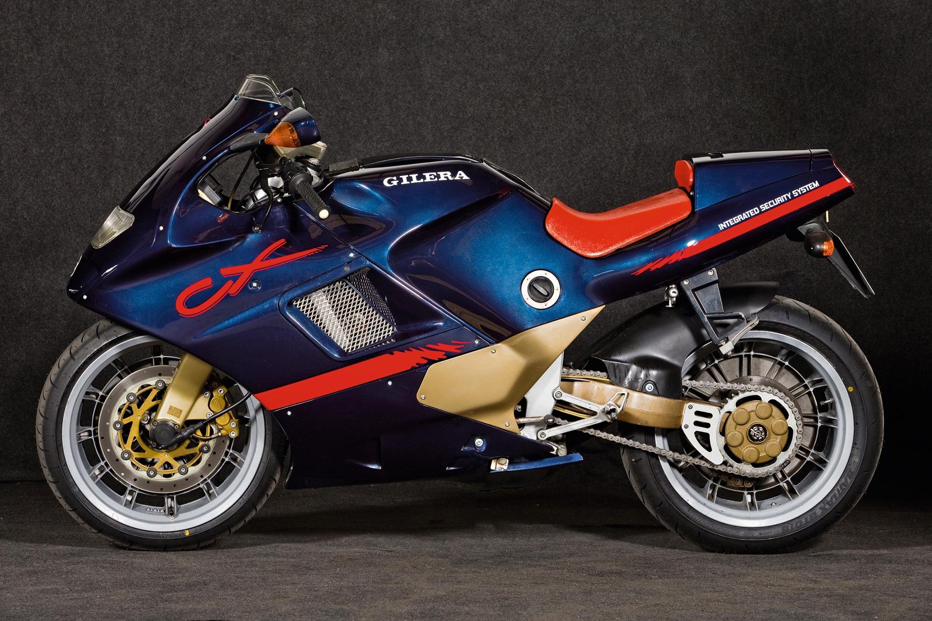 """Gilera CX 1991, la """"show bike"""" que llegó a las calles"""