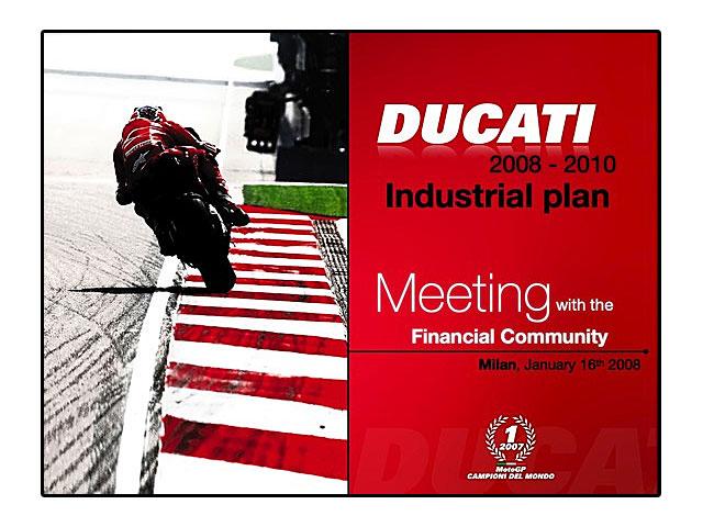 Planes de futuro para Ducati