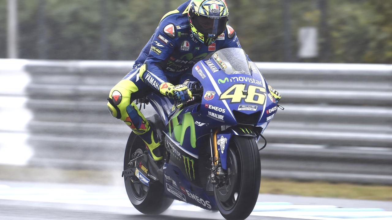 """Valentino Rossi: """"Hemos empeorado mucho en mojado"""""""