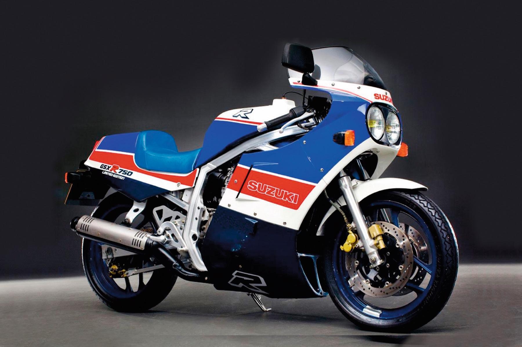 Suzuki GSX-R750R, un paso más allá en la revolución deportiva