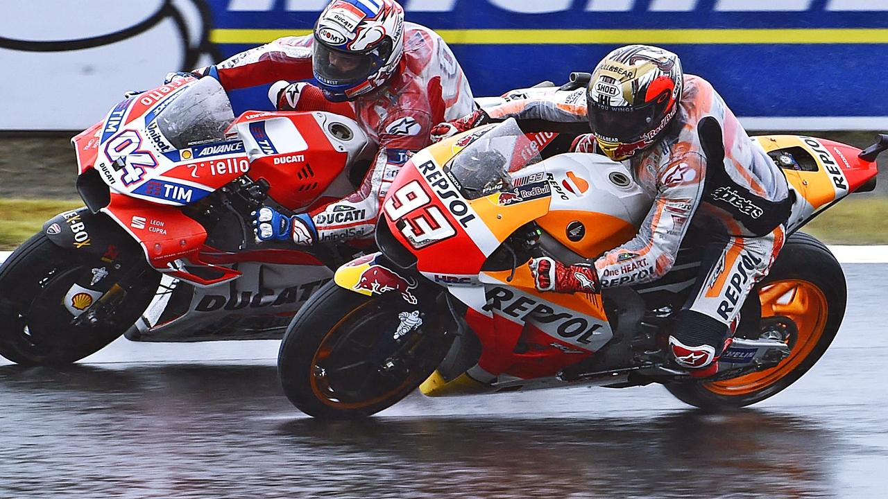 El canguro Marc Márquez y el koala Andrea Dovizioso se cruzarán en Australia