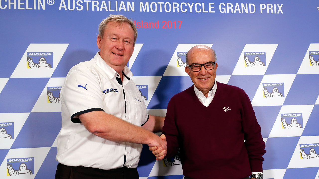 Michelin renueva con MotoGP hasta 2023