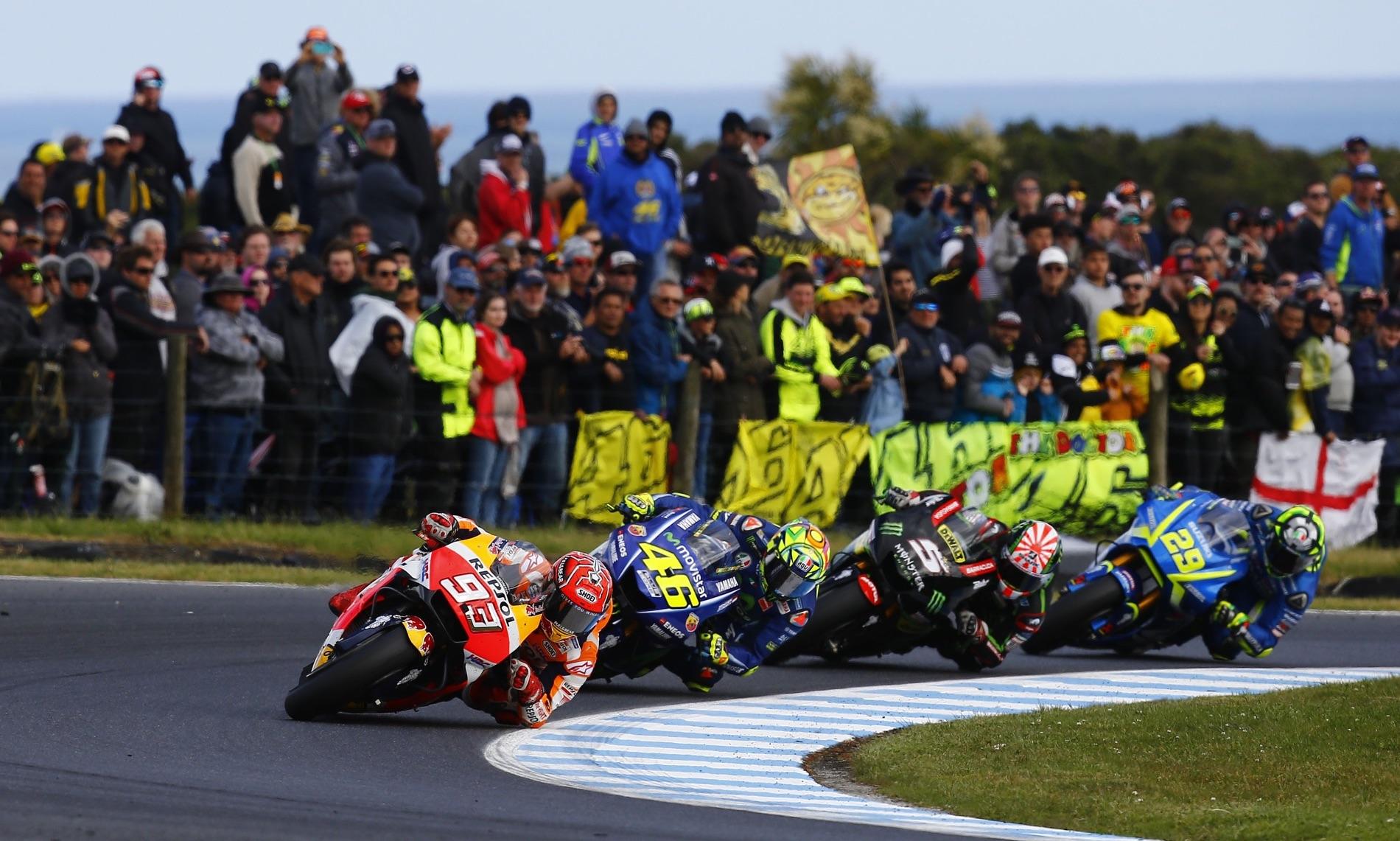 Lo mejor de la carrera de MotoGP Australia 2017