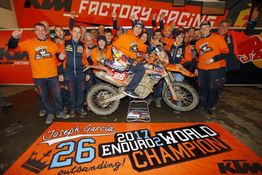 Josep García Campeón del Mundo Enduro E2