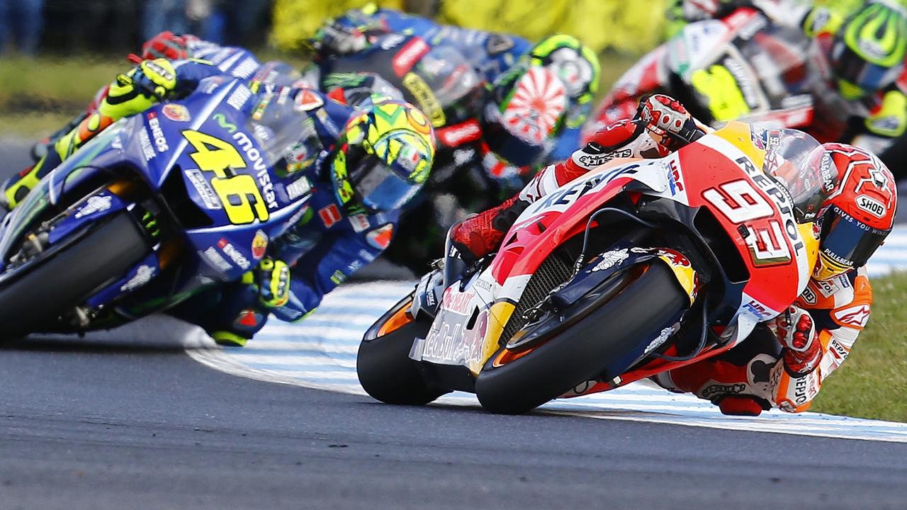 Marc Márquez, Valentino Rossi y la sublimación del motociclismo