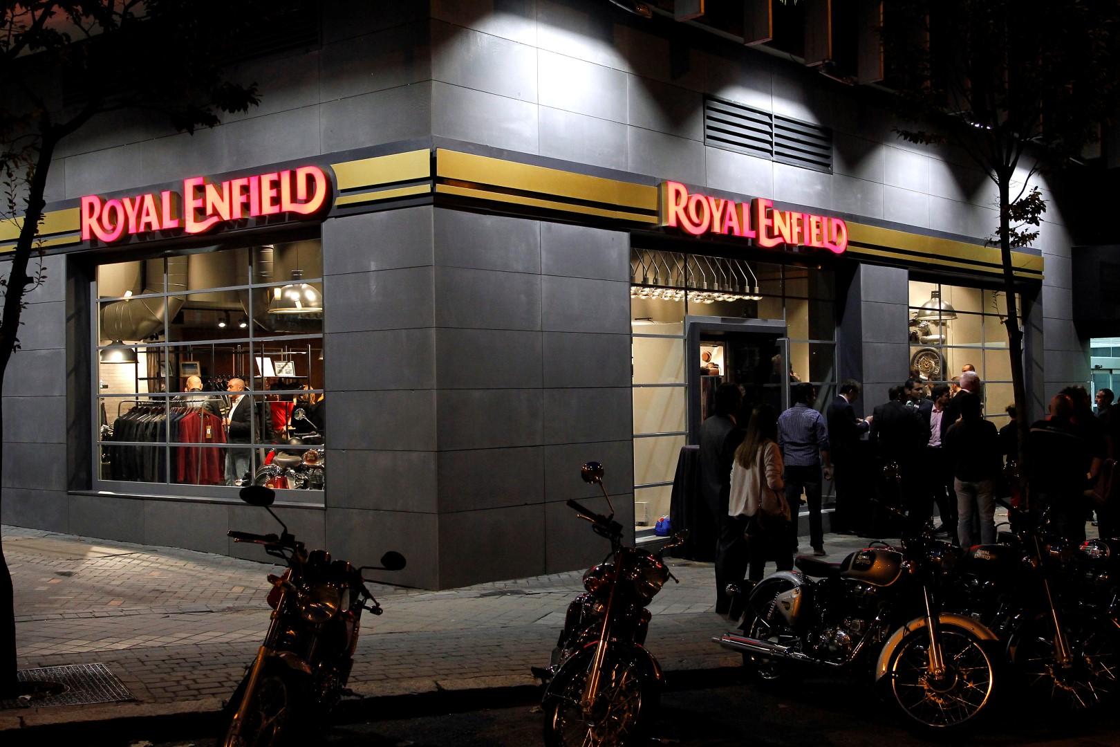 ¡Apúntate a la Fiesta Royal Enfield este viernes!