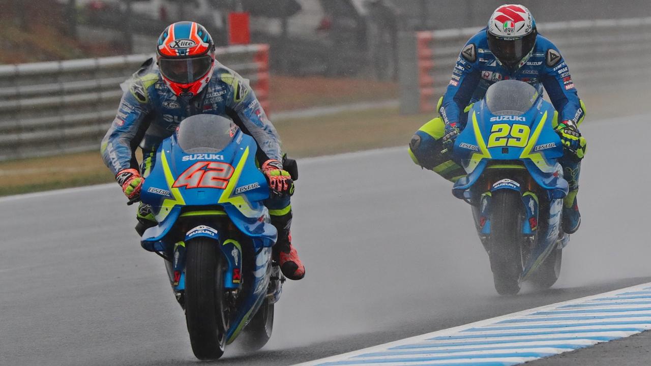 Suzuki saca pecho de la mejoría de Andrea Iannone y Álex Rins con este vídeo
