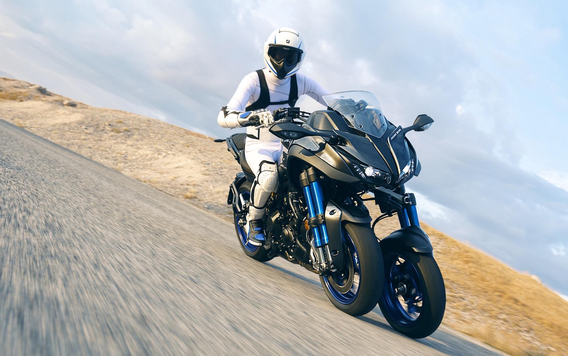 Yamaha Niken, revolución de tres ruedas con corazón deMT-09