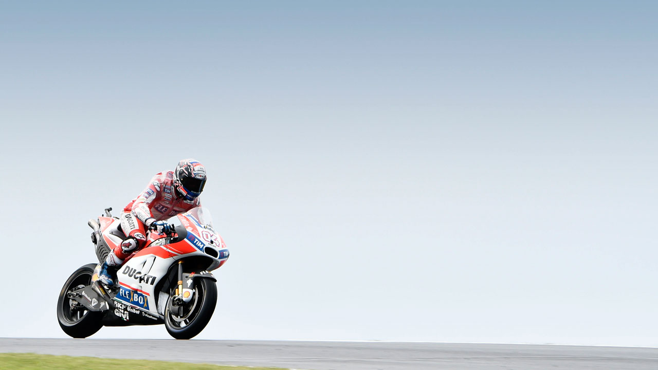 """Andrea Dovizioso: """"Hemos conseguido que la Ducati parezca superior, pero no es la realidad"""""""