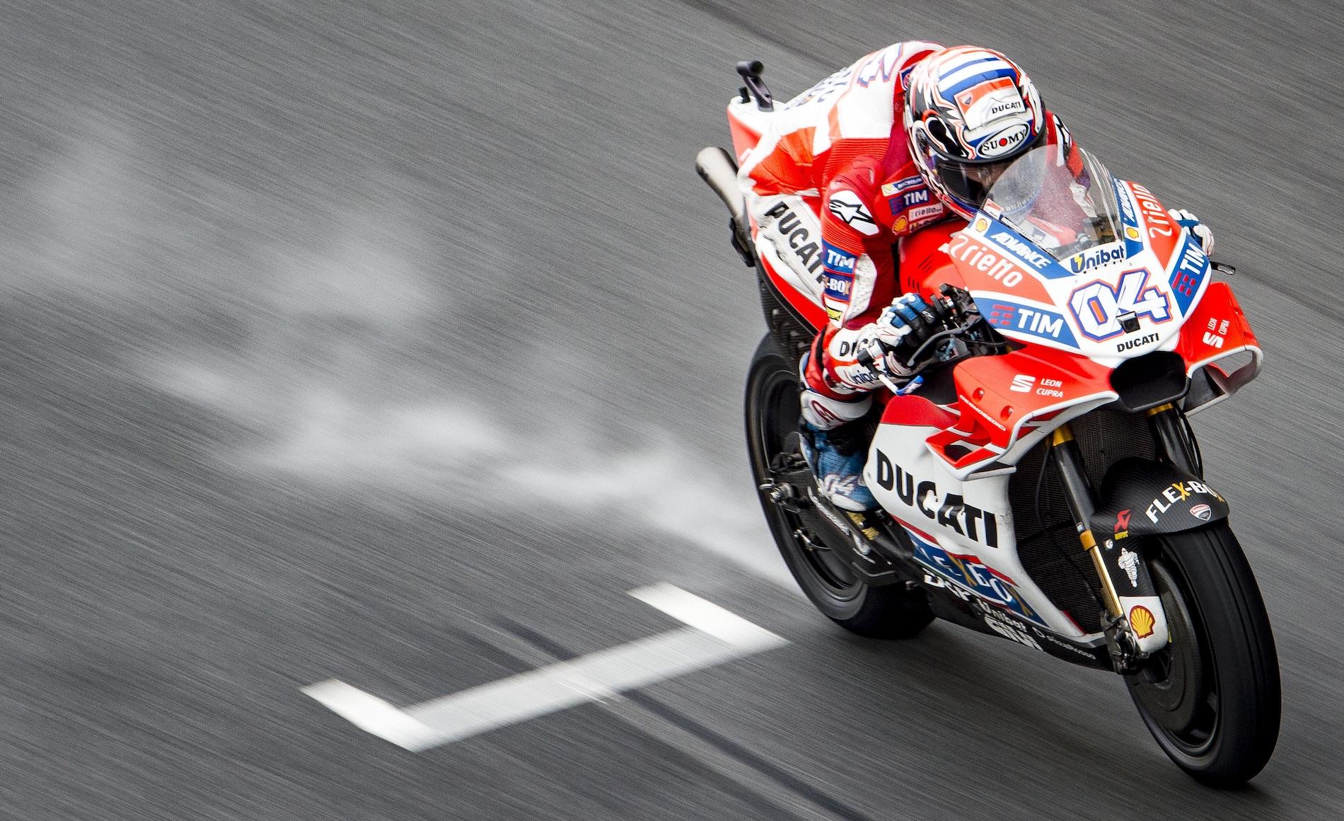 """Andrea Dovizioso: """"En Honda, Marc Márquez marca la diferencia con el resto"""""""
