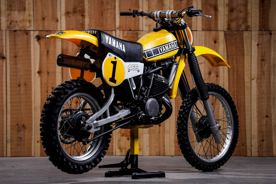 Yamaha YZ 465: símbolo «off road»