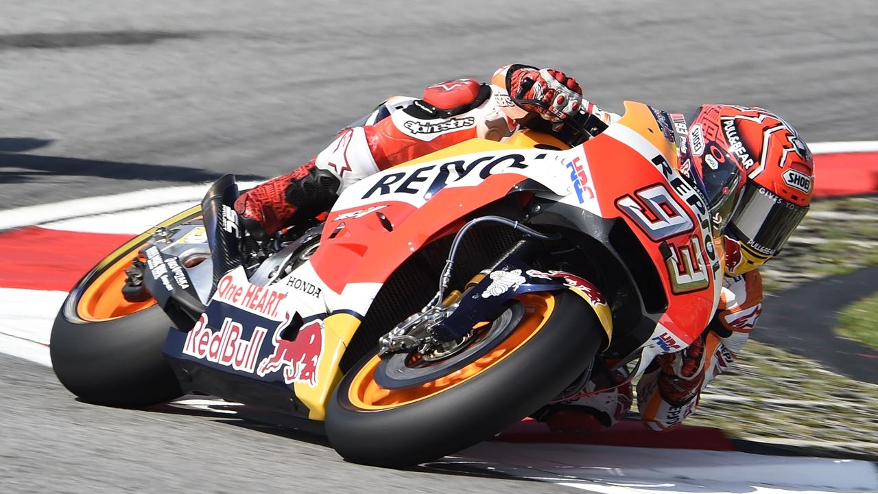 """Marc Márquez: """"Intento poner cuatro ruedas: las dos de la moto, el codo y la rodilla"""""""