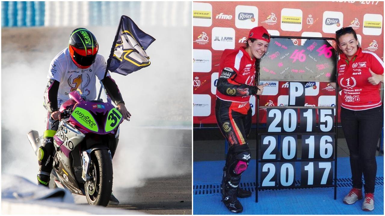 Carmelo Morales y Pakita Ruiz, campeones de España de Stock 1000 y Féminas