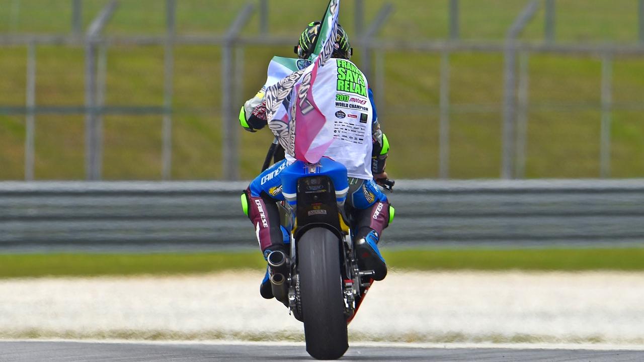 Franco Morbidelli se convierte en el sucesor de Valentino Rossi y Marco Simoncelli