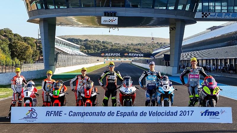El Campeonato de España de Velocidad ya conoce a sus ocho campeones de 2017