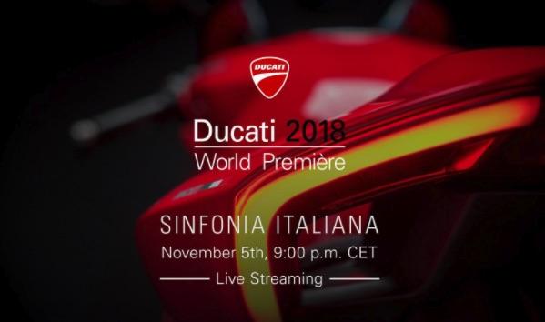 [En directo] Gama Ducati2018