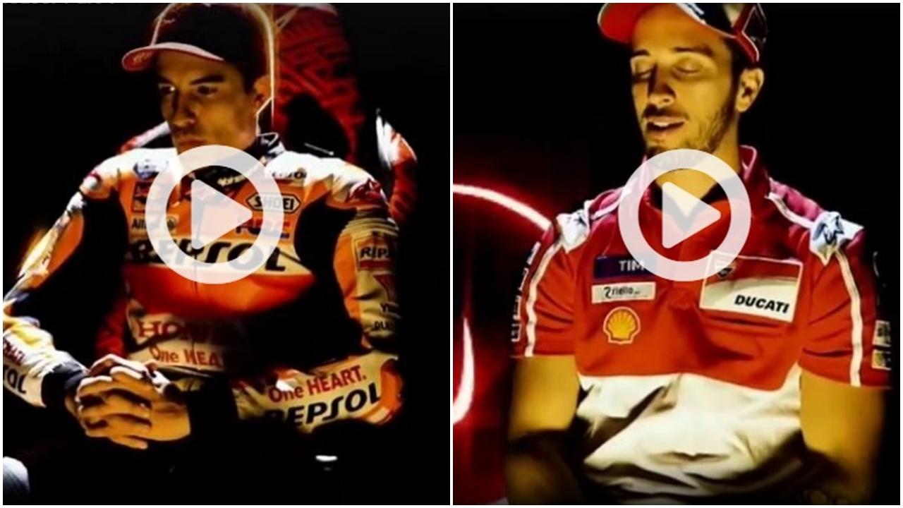 """""""Todo está en la mente"""", así se preparan Marc Márquez y Andrea Dovizioso para Valencia"""