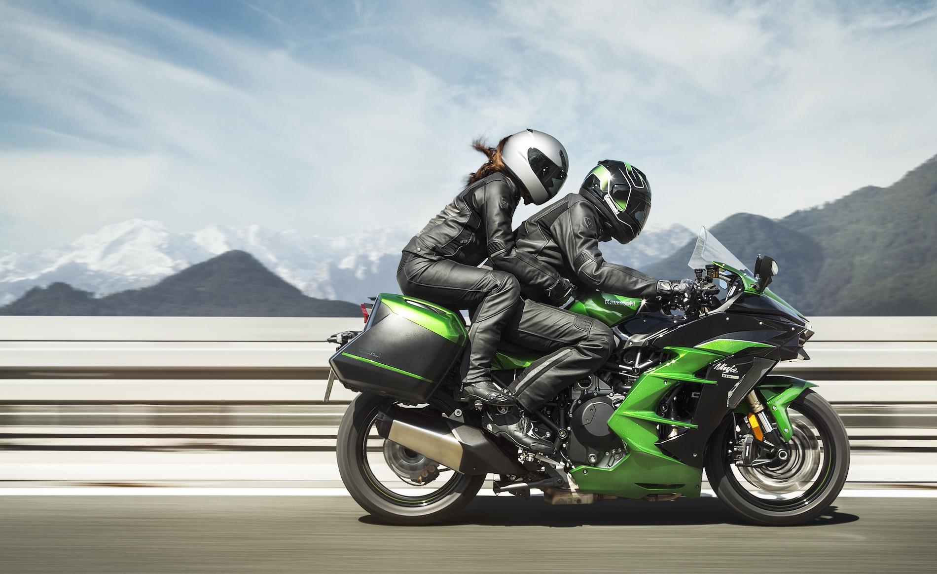 Kawasaki Ninja H2 SX y Ninja H2 SX SE 2018