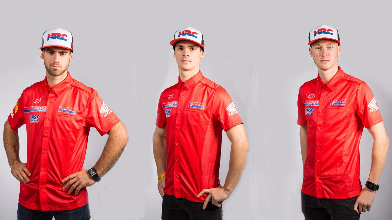 Honda HRC anuncia sus pilotos para el Mundial de MX 2018