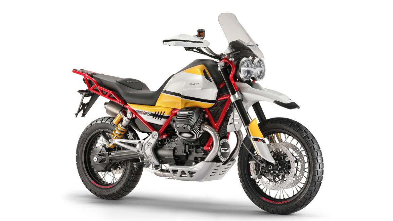 Moto Guzzi Concept V85, un guiño al pasado todoterreno