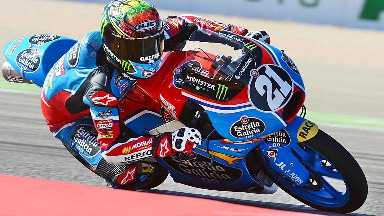 Alonso López, la penúltima joya española, saltará al Mundial de Moto3 en 2018