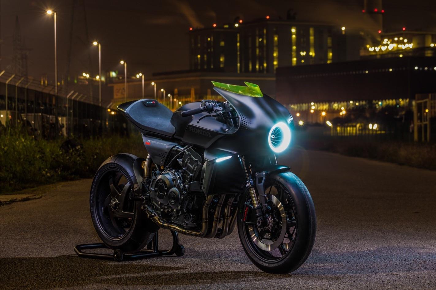 Honda CB4 Interceptor, ¿el prototipo más impactante del EICMA?