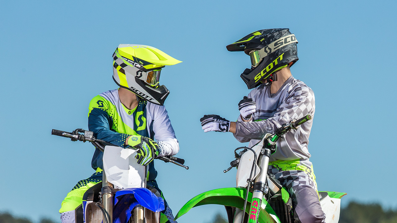 Scott lanza su nuevo casco off road MX550