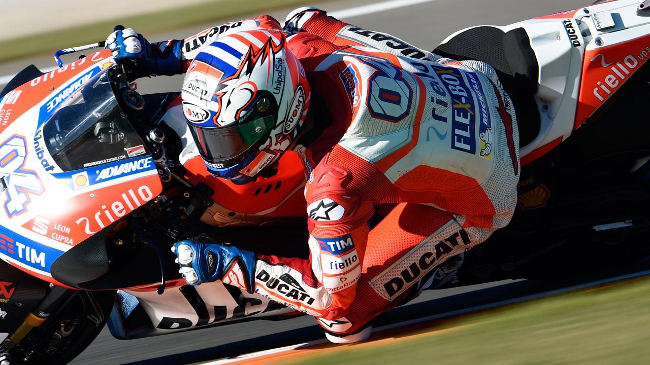 """Andrea Dovizioso: """"Somos rápidos pero no como Pedrosa o Márquez"""""""