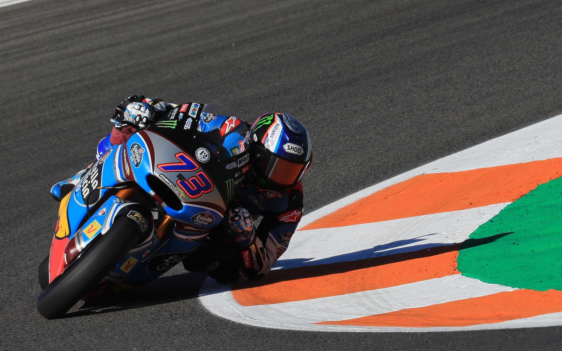 Álex Márquez conquista la última pole del año en Moto2