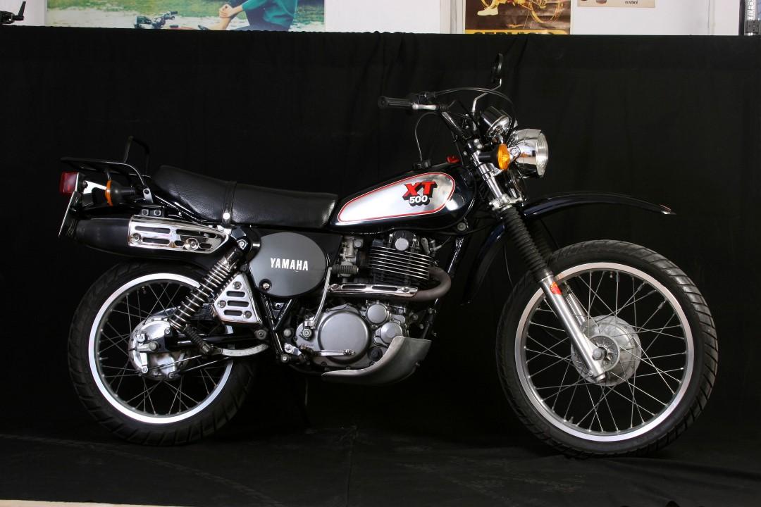 Clásicas trail: Yamaha XT 500 SP 1988