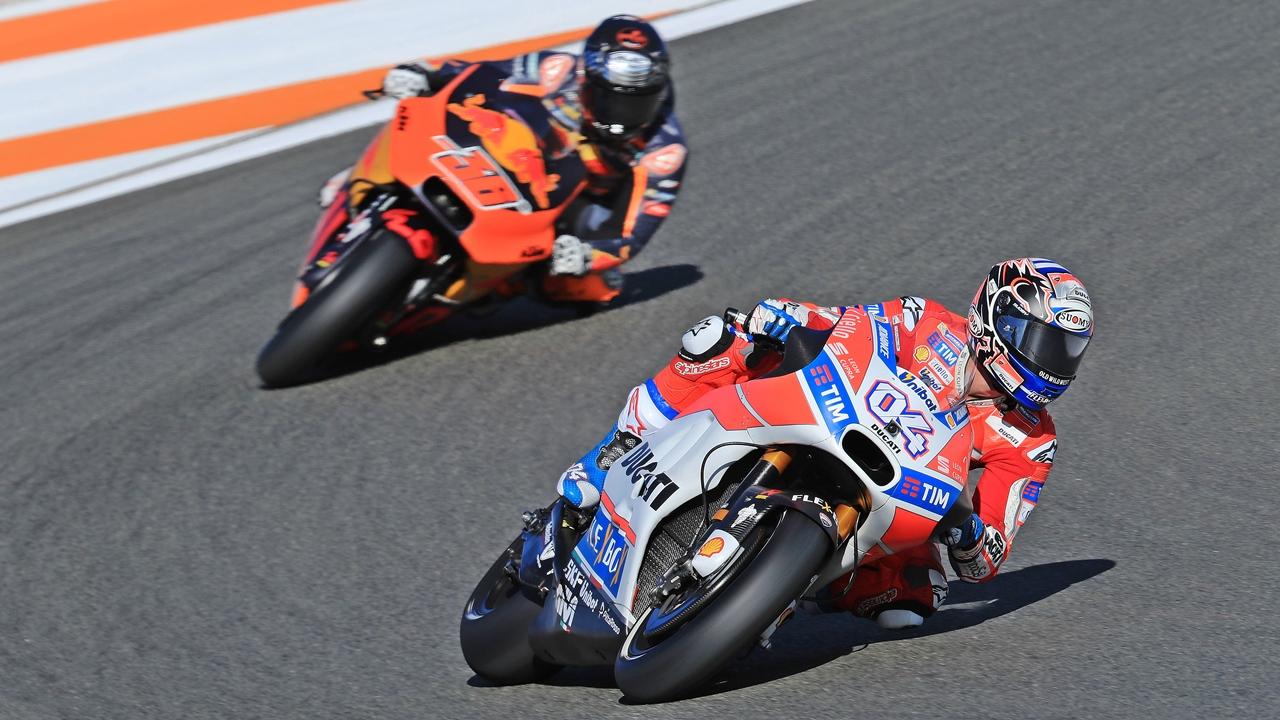 Ducati y KTM marcan la pauta de la evolución en MotoGP