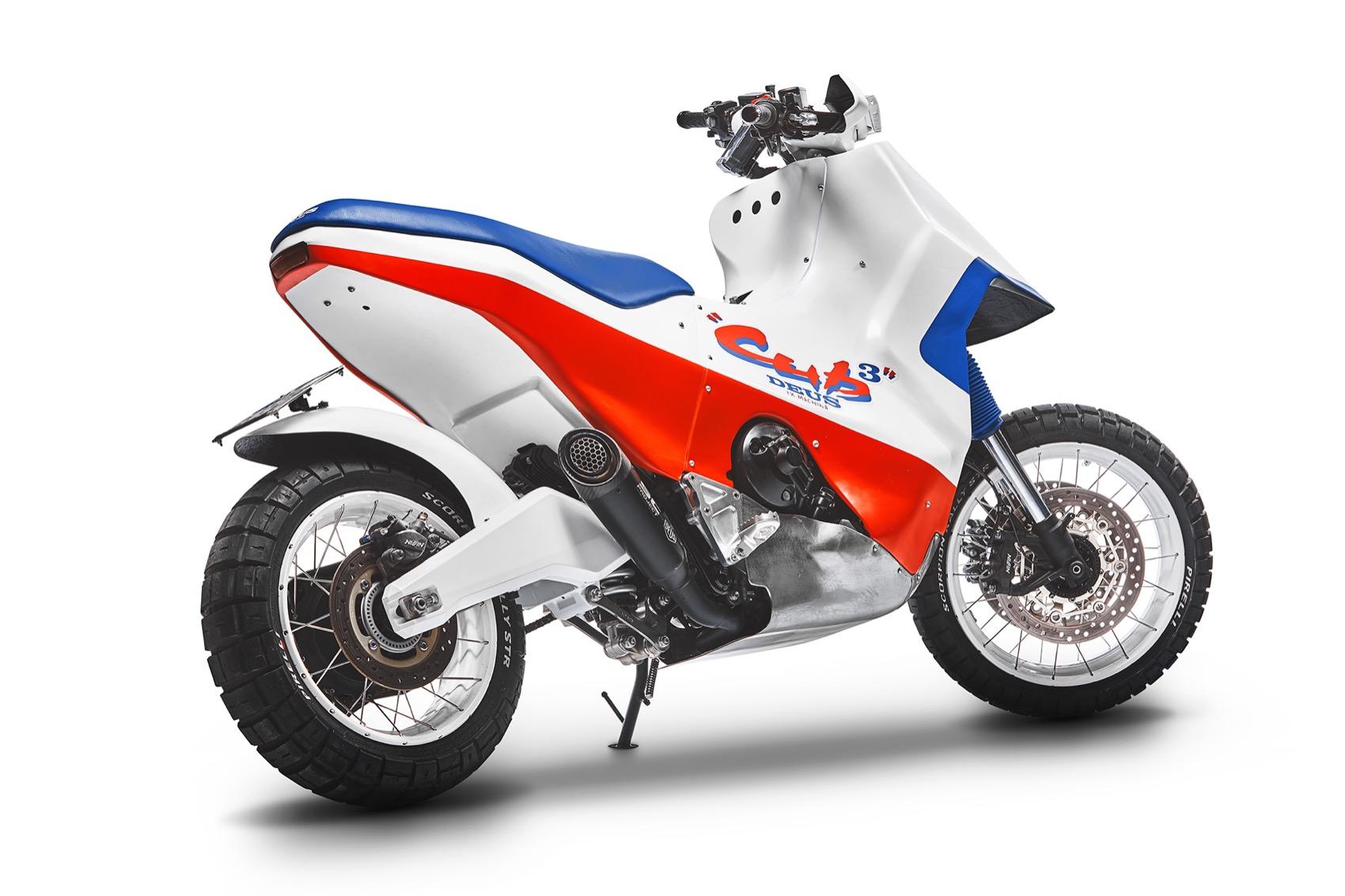 Honda Cub Cubed, ¿y si transformamos la X-ADV en una moto de los 90?