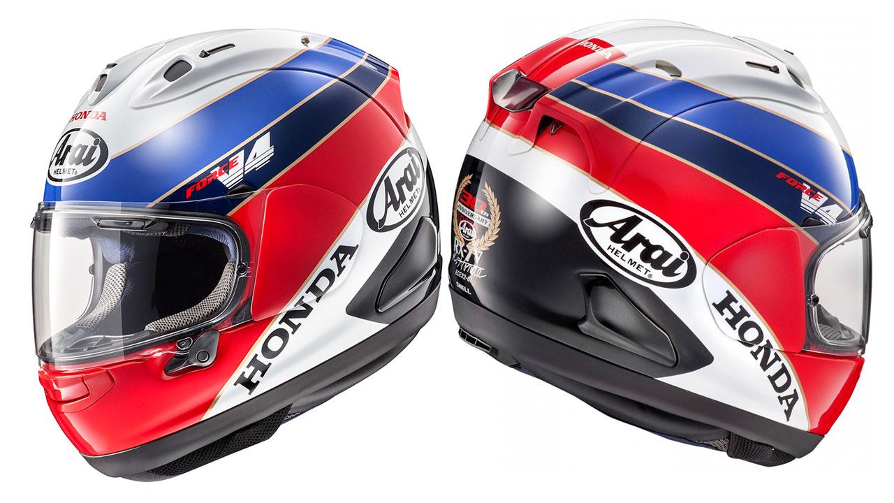 Arai RX-7V Honda RC30, confirmado: los colores HRC le sientan bien a todo