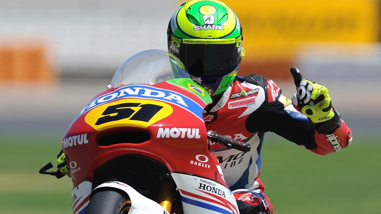 Eric Granado, campeón de Europa de Moto2 2017