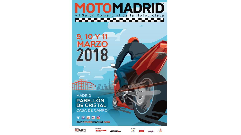 MotoMadrid 2018, del 9 al 11 de marzo