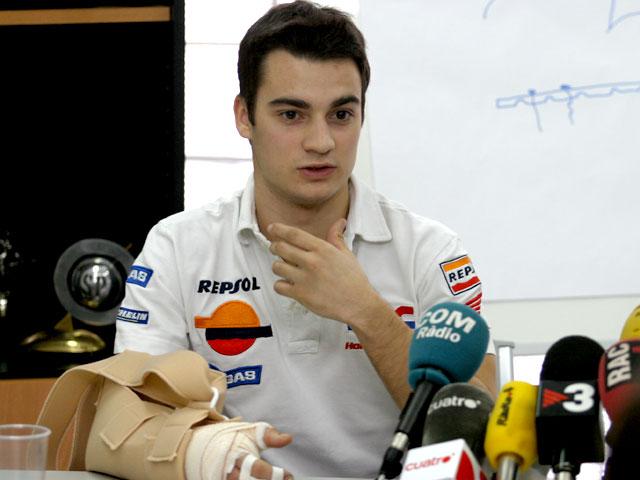 Dani Pedrosa (Honda) recibe el alta médica