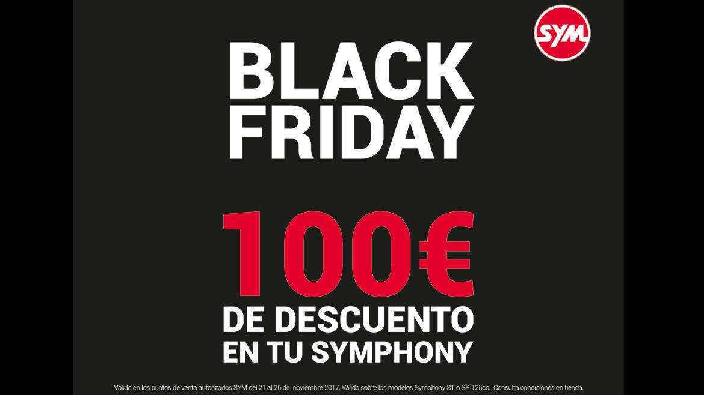 Llega el Black Friday a los SYM Symphony: 100 euros de descuento