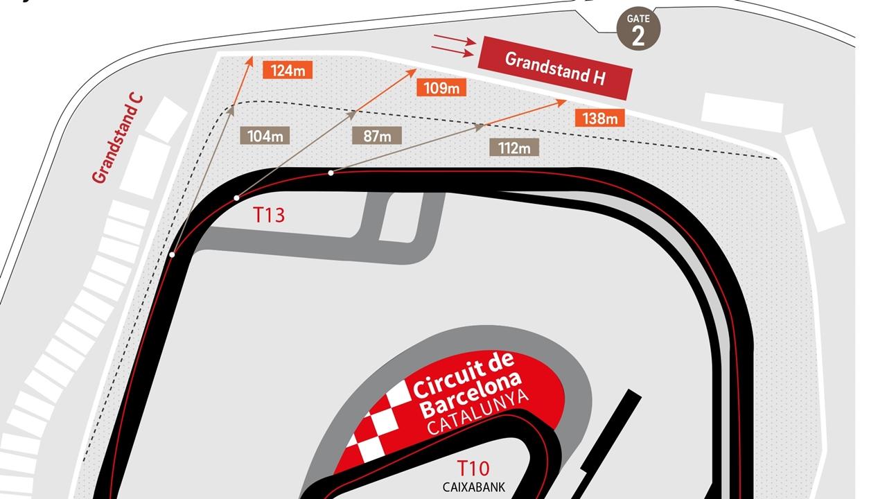 El Circuit de Barcelona-Catalunya enseña los cambios que hará para MotoGP 2018