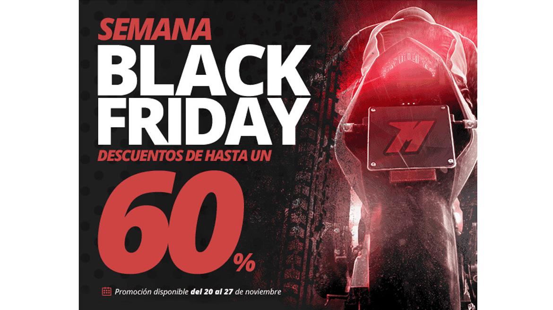 Black Friday en Motocard: Equipamiento y accesorios... ¡al 60 por ciento!