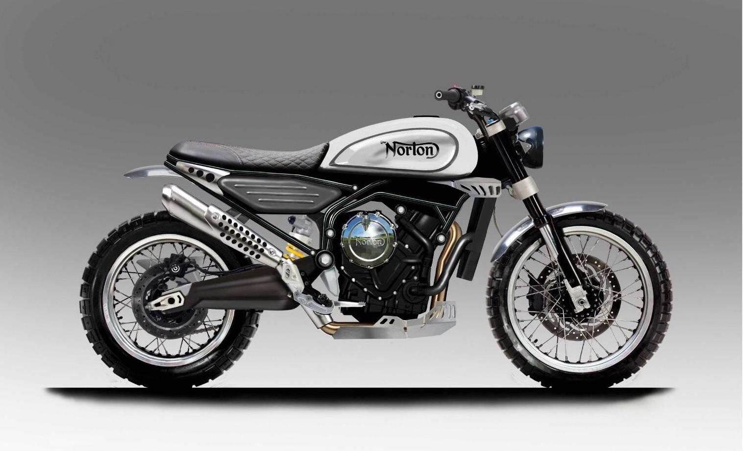 Norton Scrambler y Supersport, revolucionar sectores con 650cc y 175 CV sobrealimentados