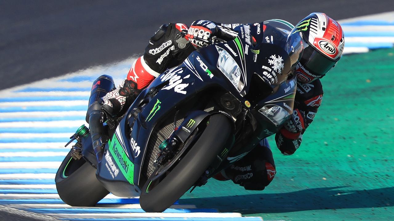 Jonathan Rea sorprende a las MotoGP en el último día de test en Jerez