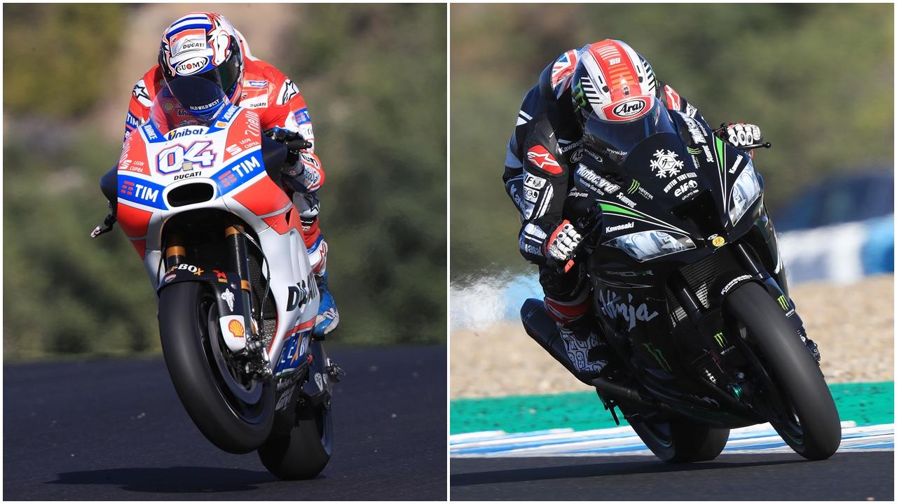 Andrea Dovizioso acaba 2017 en lo alto con Jonathan Rea metido entre las MotoGP