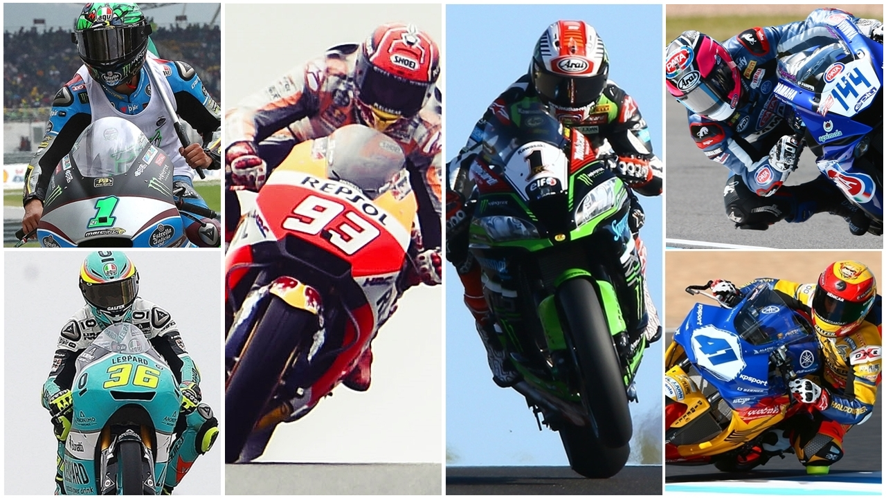 Las cuatro potencias europeas se reparten el pastel del motociclismo mundial