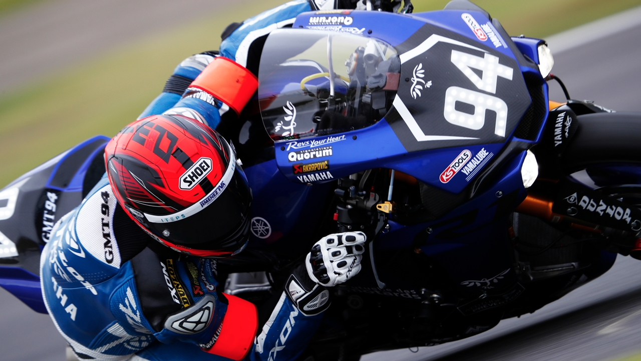 Mike Di Meglio y el GMT94 Yamaha correrán el Mundial de Supersport 2018