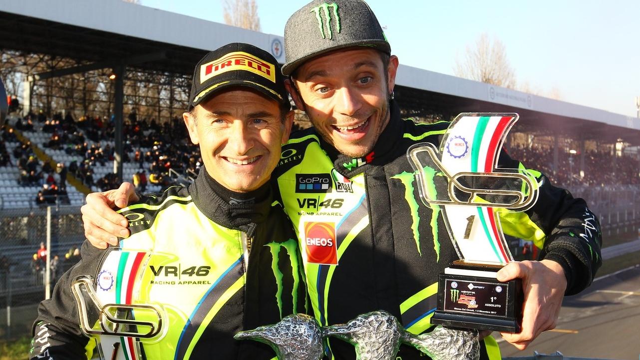 Valentino Rossi hace historia en el Monza Rally Show