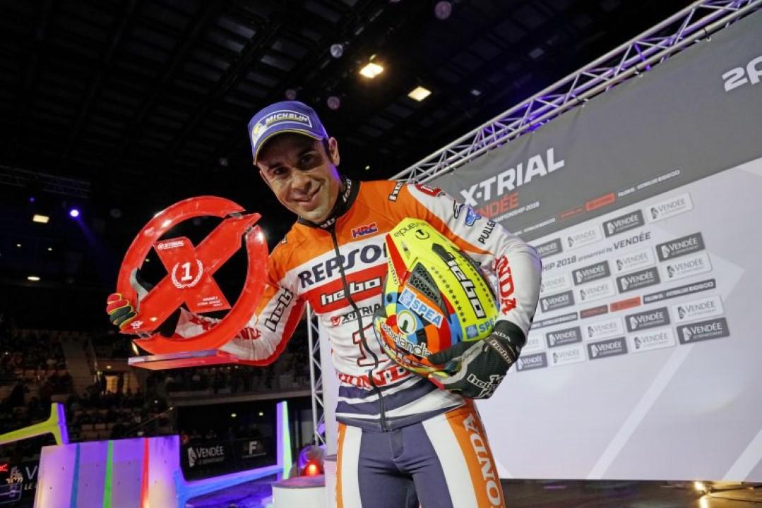 Toni Bou lidera el triplete español en la primera prueba del Mundial X-Trial 2018