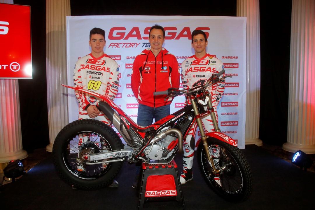Gas Gas presenta a sus dos nuevos pilotos: Jaime Busto y Jeroni Fajardo