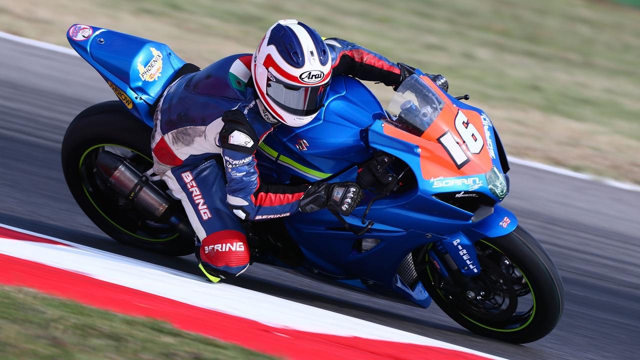 El joven Gabriele Ruiu llevará la segunda Suzuki en el Mundial de Superbike 2018