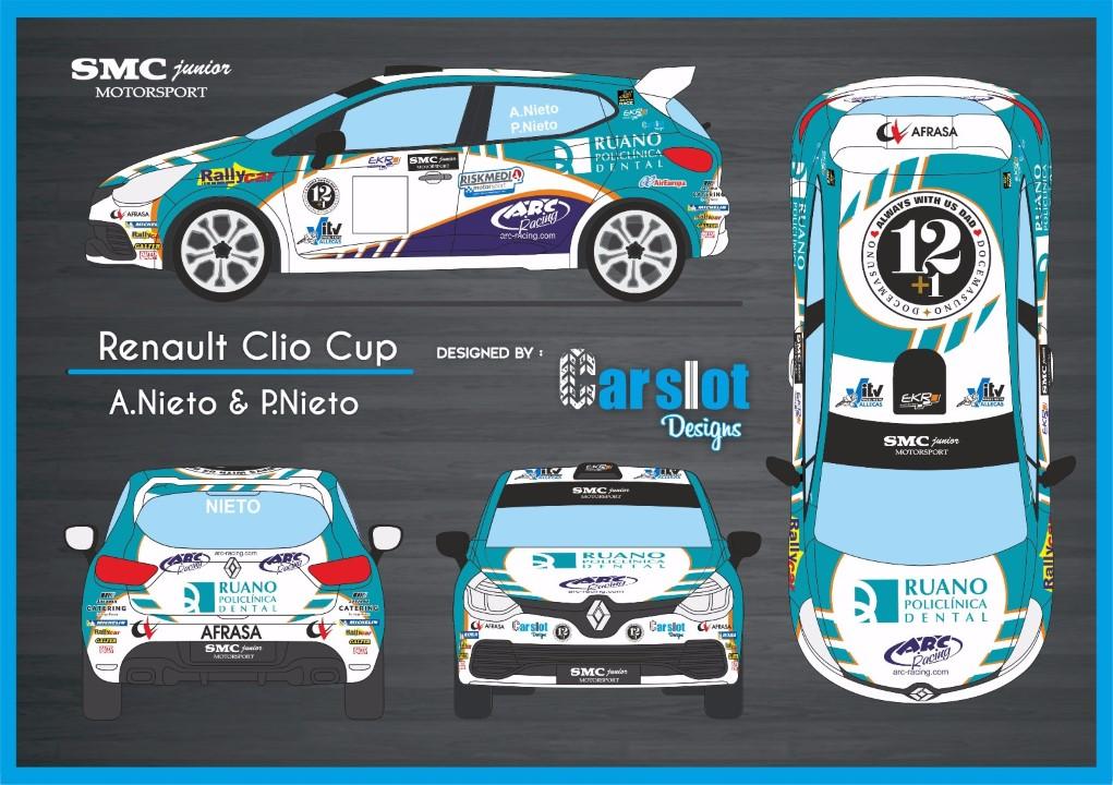 Gelete y Pablo Nieto pilotos de coches en el Trofeo Navidad del Jarama